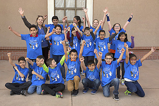 Climate change has inspired children to become activists for change while still in grade school as part of the Sierra Club's Global Warming Express. (riograndesierraclub)