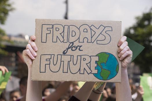 "The 16-year-old Swedish activist Greta Thunberg began ""Fridays for Future"" climate strikes in August 2018. (Nicola/Adobe Stock)"