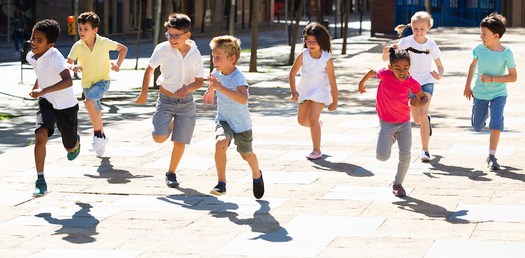The goal of the Mayor's Walking Challenge is to encourage kids to be physically active. (JackF/Adobe Stock)