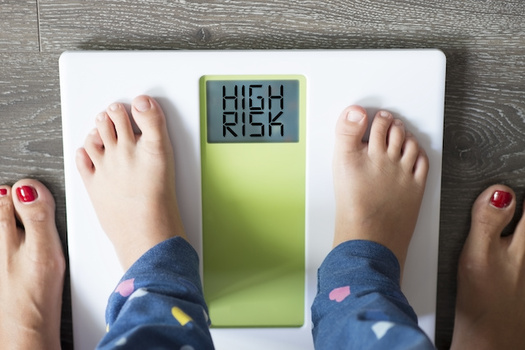 More than 11% of Oregonians ages 10 to 17 are considered obese, according to the Trust for America's Health. (adrian_ilie825/Adobe Stock)