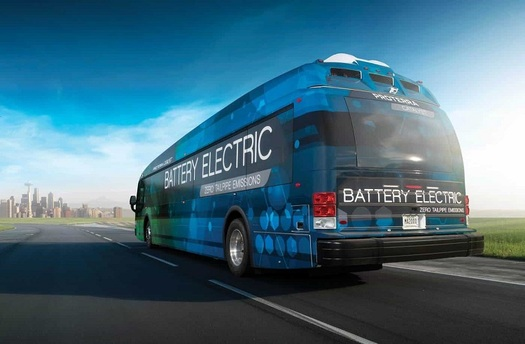 A new report from the Arizona PIRG Education Fund finds that converting to a fleet of electric buses can reduce emissions and lower operating costs. (ProterraCatalyst)