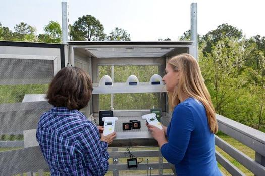 Personal sensors allow people to monitor air quality in real time in their communities. (Clean Air Carolina)