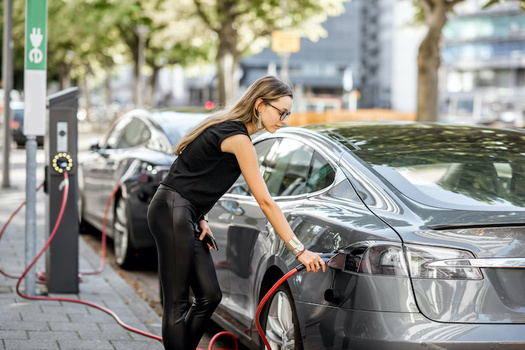 A proposal by Senate minority leader Charles Schumer would help build the charging stations needed for the transition to electric vehicles. (rh2010/Adobe Stock)