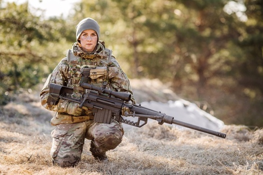 The percentage of female veterans is expected to increase from about 9% to 16% by 2042. (AdobeStock)