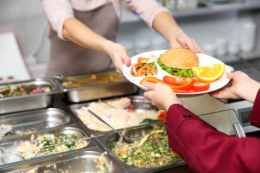 The group Lunch Aid says $58 million is the potential price tag for universal lunches in North Dakota's K-12 schools. (Africa Studio/Adobe Stock)