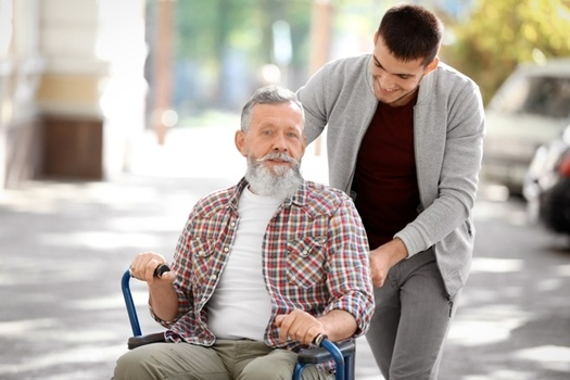 A fast-growing aging population will greatly increase demand for caregivers in the years to come. (Adobe Stock)