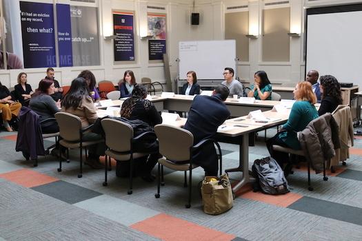 La Representante Jaypal (D-WA) se sumó esta semana a grupos del estado de Washington en una mesa redonda para apoyar una medida de crédito fiscal para las familias trabajadoras. (SEIU 775)