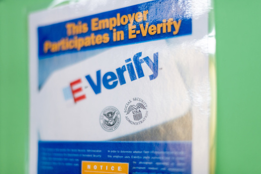 A bill creating a path to legal status for farmworkers would also require farms to adopt E-Verify, a controversial system used to check employment eligibility. (ablokhin/Adobe Stock)