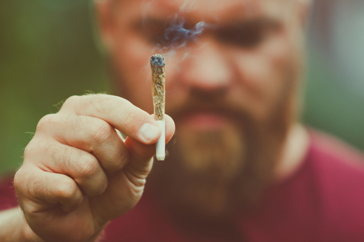 Cannabis use disorder is more common among white men ages 45 to 54, research shows. (Adobe stock)