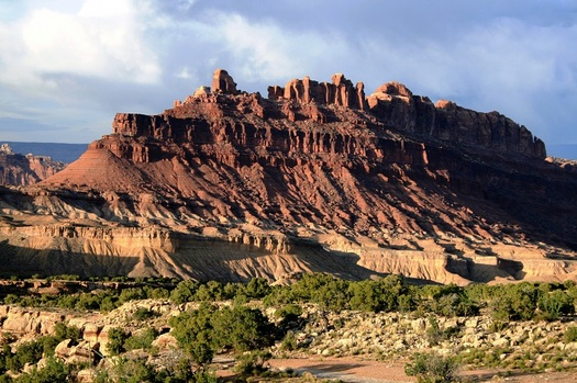 The BLM has been ordered to pull back dozens of oil and gas leases, including ones in the Black Dragon Canyon wilderness area in Utah, because it did not properly analyze the effects that oil exploration would have on climate change. (Antropova/AdobeStock)