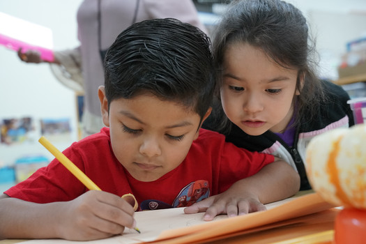A new report says many young children in immigrant families are having a hard time in preschool, linking fear and distress to the current political climate. (Greg Gayne/Para Los Ninos)