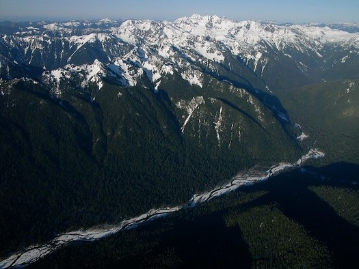 A bill in Congress would protect the Olympic Peninsula's Queets River. (Sam Beebe/Flickr)