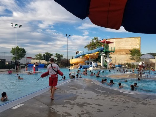 The Zone Project is helping to provide summer programs for children, including free swimming lessons. (Jene Ray/Northeast Community Center)