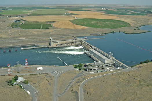 Gov.Inslee's Southern Resident Orca Task Force has recommended considering the impacts of four lower Snake River dams on salmon populations. (Bonneville Power/Flickr)