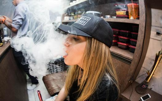 In Minnesota, health officials say among 8th-grade students, e-cigarette use nearly doubled from 2016 to 2019, and one in four 11th graders now use e-cigarettes. (Isabella Mendes/Librestock)