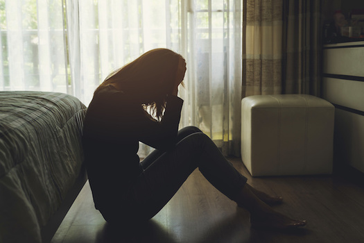Childhood trauma is a factor in 44% of depression cases, according to the CDC. (Kittiphan/Adobe Stock)
