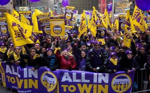 Transportation-hub workers say the Healthy Terminals Act would help them get quality, affordable health care. (Credit: SEIU 32BJ)