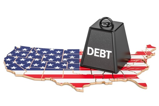 Some analysts predict that just the interest on the U.S. national debt could exceed $1 trillion in a decade. (AdobeStock)