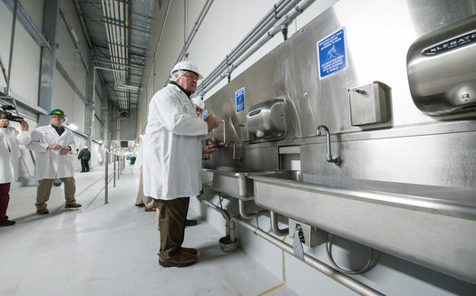 U.S. Secretary of Agriculture Sonny Perdue and his department have faced several lawsuits over a rollback of regulations for pork processing plants. (USDA.gov)