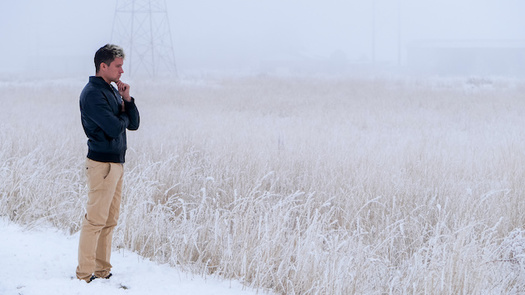Snow and below-freezing temperatures can lead farmers to feel isolated in the winter. (Tatiana/Adobe Stock)