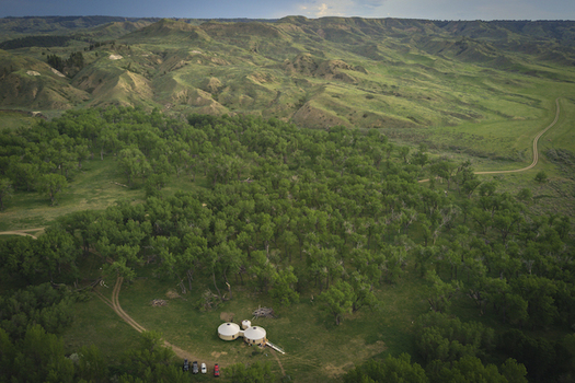 The American Prairie Reserve is expanding options for people to stay on Montana's unique grasslands. (Reid Morth/American Prairie Reserve)