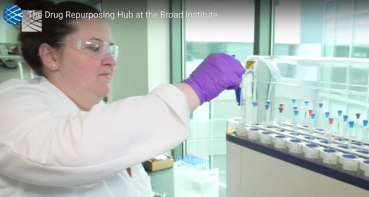 The Drug Repurposing Hub at the Broad Institute now has a collection of more than 6,000 approved drugs in humans. (Drug Repurposing Hub/YouTube)