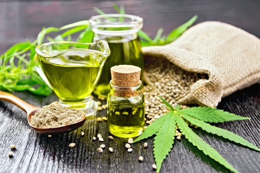 Most hemp is grown to produce CBD oil, which is used for a variety of medicinal purposes. Will Ohio farmers jump onto the hemp bandwagon? (Adobe Stock)
