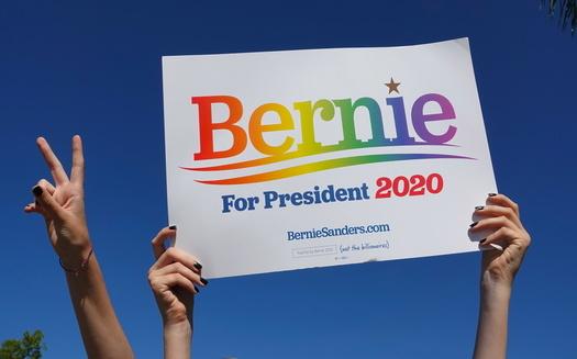 U.S. Sen. Bernie Sanders, I-Vt., has declared himself the winner of the Iowa caucuses by a margin of 6,000 votes. (Adobe Stock)