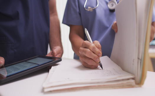 A looming strike for health care workers in the Twin Cities is seen as a sign of labor strife within the industry. (Adobe Stock)