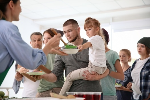 Hunger-fighting groups point out that food insecurity among Ohioans hasn't improved significantly since the end of the Great Recession. (Adobe Stock)