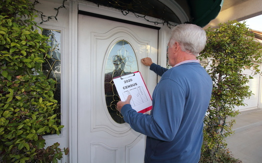 Census officials say workers will be knocking on doors this spring and summer. (Adobe Stock)