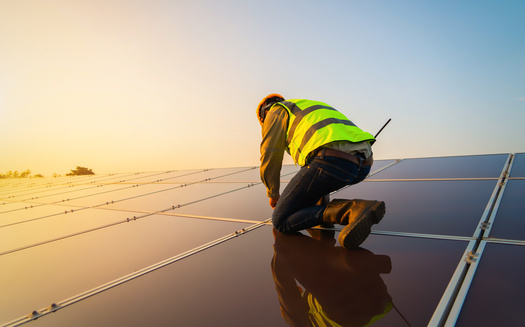 Minnesota gets about 25% of its electricity from renewable energy, such as solar power. (Adobe Stock)