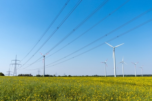Developer Invenergy plans to provide $20 million in landowner payments in Missouri for the rights to build its Grain Belt Express transmission line. (Adobe Stock)