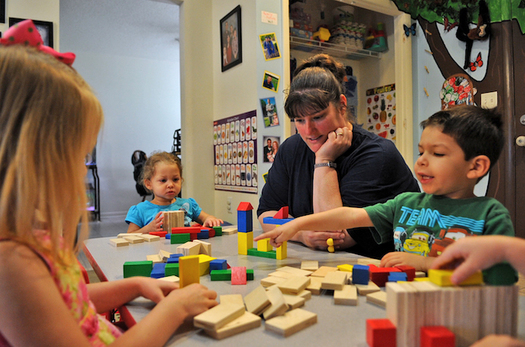 About 1,500 Nebraska parents, mostly unmarried mothers, would start working if they knew they'dbe able to obtain a child-care subsidy. (Aubrey Robinson/USAF)