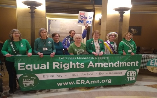 Supporters of Equal Rights Amendments say they can level the field for women, but can also be helpful for men in a variety of ways, including parental rights. (Mike Moen/PNS)