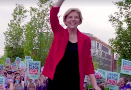 "Sen. Elizabeth Warren, D-Mass., dropped out of the Democratic presidential primary race last week after performing worse than polls expected. The question of her ""electability"" as a woman candidate came up throughout her campaign. (ElizabethWarren.com)"