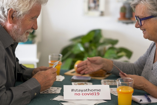 Older folks are being told to stay at home if possible in order to avoid the novel coronavirus. (luciano/Adobe Stock)