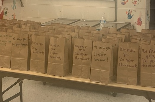 School food service staff members in Wyoming are shifting gears as classrooms close, and finding creative ways to make sure children don't go hungry during the COVID-19 crisis. (Wyoming Department of Education)