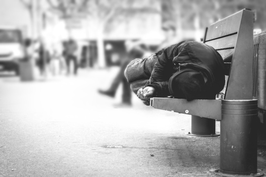 An estimated 4,079 Kentuckians experience homelessness on any given day, according to federal data from 2019. (Adobe Stock)