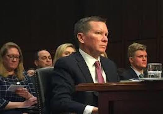 "An advocacy group dedicated to protecting government whistleblowers says the firing of Inspector General Michael Atkinson by President Donald Trump without evidence that he acted improperly is a ""crushing blow to public trust."" (dni.gov)"