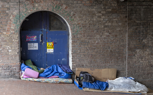 A study by the Wilder Foundation says roughly 20,000 people experience homelessness on a given night in Minnesota. (Adobe Stock)