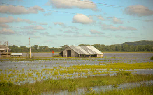Environmental groups in the upper Midwest say states such as Iowa face ongoing flood threats because of extreme weather events caused by climate change. (Crystal Dorothy)