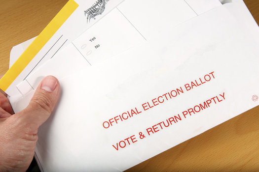 Massachusetts is one of 19 states that requires a voter to have a specific reason in order to obtain an absentee ballot. (Svanblar/iStockphoto)