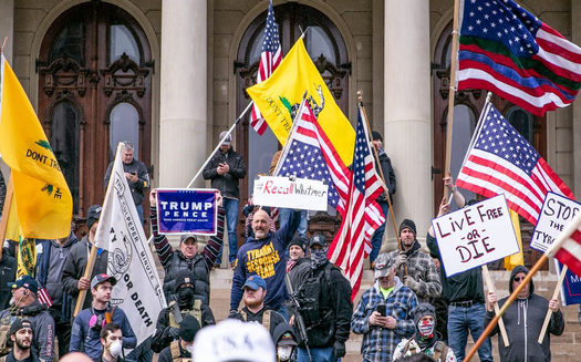 In states with Democratic governors, including Wisconsin, Minnesota and Michigan, protests against stay-at-home orders are being led by organizations aligned with President Donald Trump. (peoplesdispatch.org)