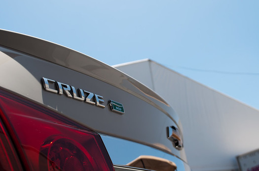 Before closing in 2019, General Motors' Lordstown, Ohio, plant produced the fuel-efficient Chevy Cruze. (InSapphoWeTrust/Flickr)