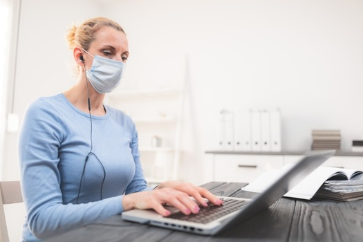 To prevent the spread of COVID-19, many Ohio Children Services offices are staffed by one person at a time, with others working remotely. (AdobeStock)