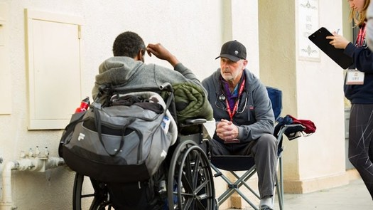 When it comes to people experiencing chronic homelessness, New Mexico consistently ranks among the top U.S. states, according to the U.S. Department of Housing and Urban Development. (direct relief.org)