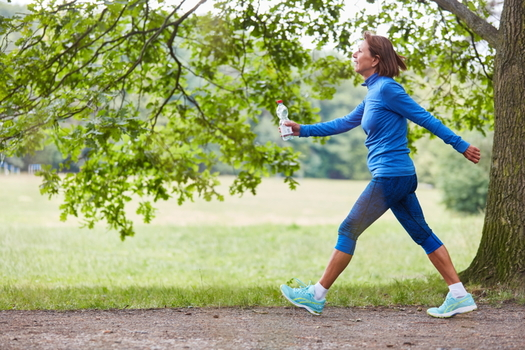 In a survey by UnitedHealthcare, more than 50% of respondents said walking is their preferred way to exercise. (Adobe stock)