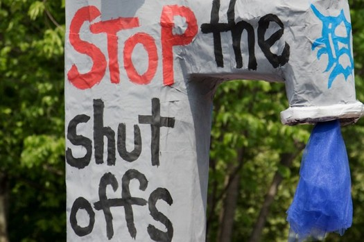 People who advocate for income-based water rates see the current moratorium on water shutoffs in Michigan as only a temporary fix for lower-income households. (Becker1999/Flickr)