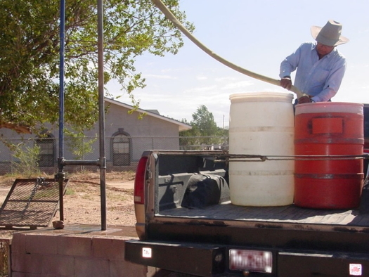 About 40% of Navajo Nation households don't have running water, and many of the filling stations they use to get water have closed during the pandemic. (U.S. Environmental Protection Agency)